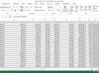 داده های z-score برای شرکت های بورسی ایران