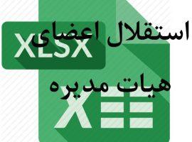 داده های بورسی: استقلال اعضای هیات مدیره شرکت های بورسی از سال ۱۳۸۸ تا ۱۳۹۷