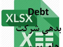 داده های بورسی: بدهی شرکت های بورسی از سال ۱۳۸۸ تا ۱۳۹۷