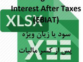 داده های بورسی: داده های سود یا زیان پس از کسر مالیات شرکت های بورسی از سال ۱۳۸۸ تا ۱۳۹۷ ebiat